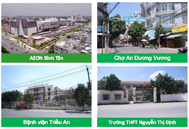 Tiện ích khu Tây Sài Gòn
