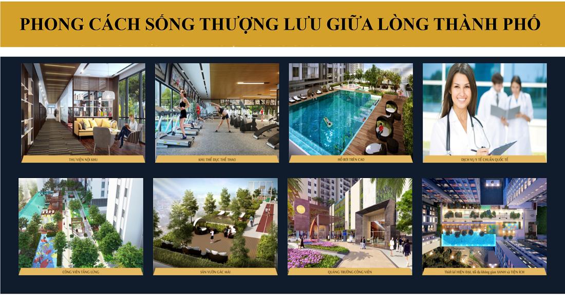 Tiện ích dự án Hà Đô centrosa