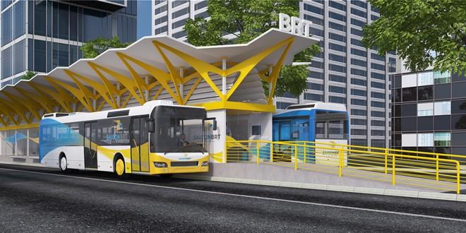 Trạm dừng xe buýt BRT số 1