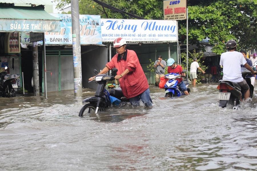 Hiện trạng đường Hồ Ngọc Lãm Quận Bình Tân TP.HCM