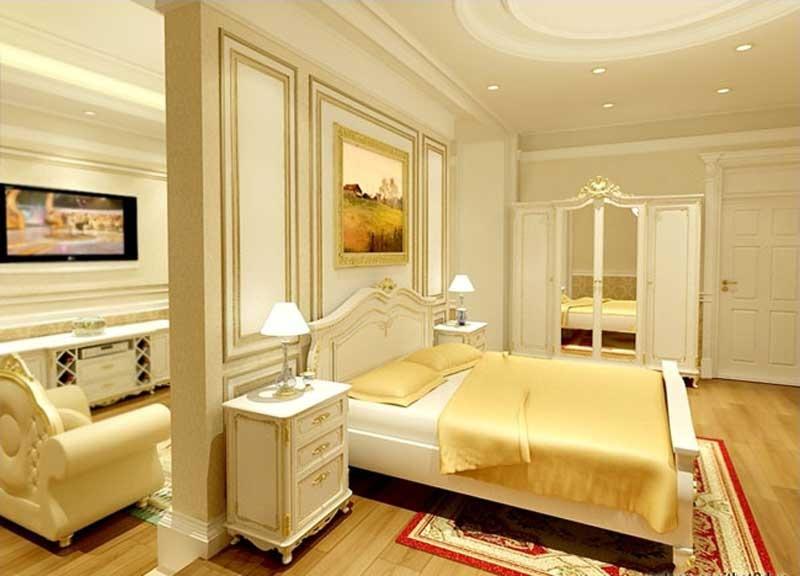 Hình ảnh phòng ngủ căn hộ Lancaster 230 Nguyễn Trãi